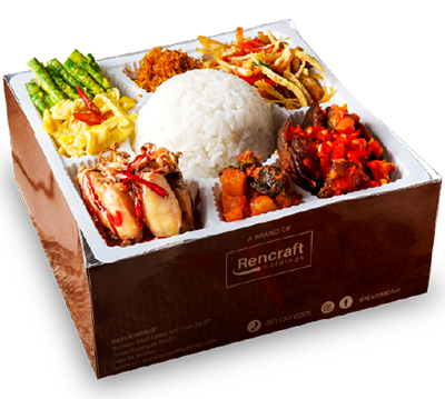 menu 3 nasi kotak dapurpatriot